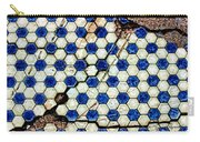 Geographic Tile Carry-all Pouch
