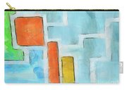 Geometric Abstract Carry-all Pouch by Pixel Chimp