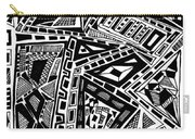 Geometric Doodle Carry-all Pouch