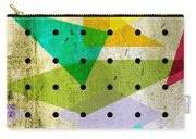 Geometric In Colors  Carry-all Pouch by Mark Ashkenazi