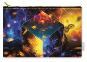 Geometry Amid Chaos Lights Carry-all Pouch