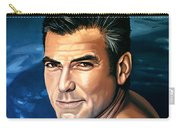 George Clooney 2 Carry-all Pouch by Paul Meijering