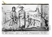 George IIi Cartoon, 1779 Carry-all Pouch