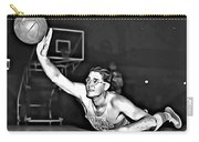 George Mikan Carry-all Pouch by Florian Rodarte