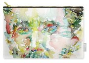 George Orwell Watercolor Portrait Carry-all Pouch