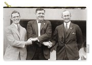 George Sisler Babe Ruth Ty Cobb Carry-all Pouch