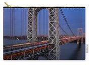 George Washington Bridge At Twilight Carry-all Pouch