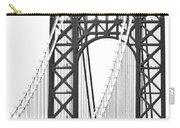 George Washington Bridge Nj Tower Carry-all Pouch