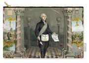 George Washington Freemason Carry-all Pouch