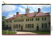 George Washington's Mount Vernon Carry-all Pouch