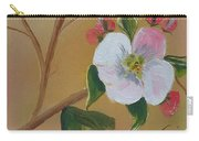 Georgia Flowers - Apple Blossoms- Stretched Carry-all Pouch
