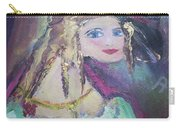 Georgiana And The Ring Carry-all Pouch by Judith Desrosiers
