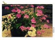 Geranium And Jasmine Carry-all Pouch