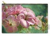 Geranium Blossoms Photoart Carry-all Pouch