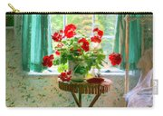 Geraniums In The Bedroom Carry-all Pouch