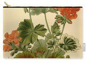 Geraniums Carry-all Pouch by Philip Ralley