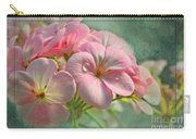 Geraniums With Texture Carry-all Pouch