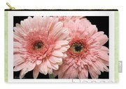 Gerber Daisy Peace 4 Carry-all Pouch
