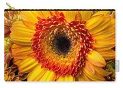 Gerbera Daisy With Mums Carry-all Pouch