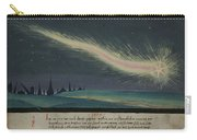 German Comet Illustration Carry-all Pouch