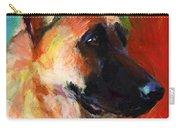 German Shepherd Dog Portrait Carry-all Pouch