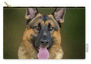 German Shepherd Portrait II Carry-all Pouch