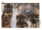 German Shepherd Puppy Collage Carry-all Pouch
