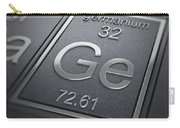 Germanium Chemical Element Carry-all Pouch