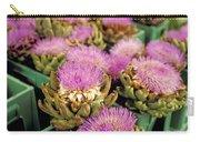 Germany Aachen Munsterplatz Artichoke Flowers Carry-all Pouch