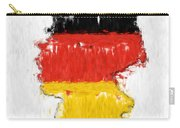 Germany Painted Flag Map Carry-all Pouch
