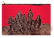 Geronimo And Family Surrendering Collage Number 1 C.s. Fly 1887-2012 Carry-all Pouch