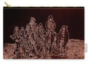 Geronimo And Family Surrendering Collage Number 2 C.s. Fly 1887-2012 Carry-all Pouch