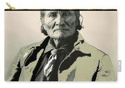 Geronimo As Photographed By A. Rinehart Omaha Nebrasks  1898-2013.  Carry-all Pouch