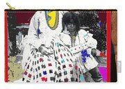 Geronimo's Wife Ta-ayz-slath And Child Unknown Date Collage 2012 Carry-all Pouch