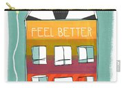 Get Well Card Carry-all Pouch by Linda Woods
