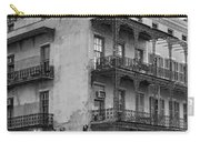 Gettin' By In New Orleans Bw Carry-all Pouch