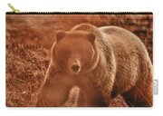 Getting A Bit Too Close Carry-all Pouch by Jeff Folger