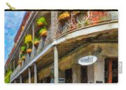 Getting Around The French Quarter - Watercolor Carry-all Pouch