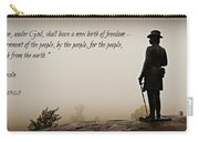 Gettysburg Remembrance Carry-all Pouch