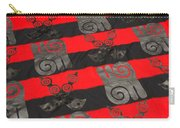 Ghana In Red And Black Carry-all Pouch