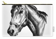 Ghazibella Thoroughbred Racehorse Filly Carry-all Pouch