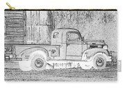 Ghost Of A Truck Carry-all Pouch