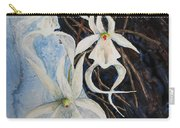 Ghost Orchid Blooming Carry-all Pouch