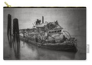 Ghost Steamer In Bw Carry-all Pouch