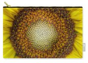 Ghost Sunflower Carry-all Pouch