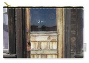 Ghost Town Handcrafted Door Carry-all Pouch
