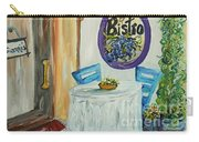 Gianni's Bistro Carry-all Pouch by Eloise Schneider