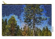 Giant Abstract Tree Carry-all Pouch