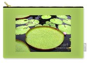 Giant Amazon Lily Pads Carry-all Pouch