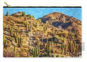 Giant Cordon Cactus Carry-all Pouch